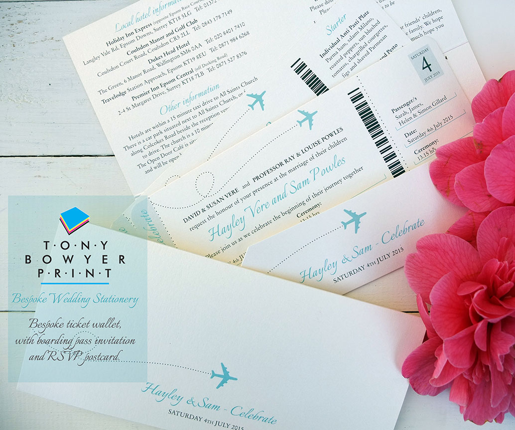 Personal & Wedding Stationery | Bournemouth - Tony Bowyer Print