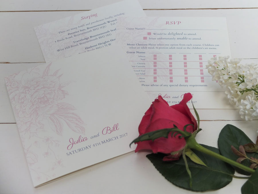 Personal wedding stationery bournemouth tony bowyer print have your invitations finished with a lovely ribbon or stylishly nostalgic wax seal let your creativity flow stopboris Images